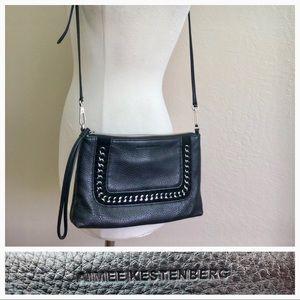 Aimee Kestenberg Black Leather Crossbody Bag